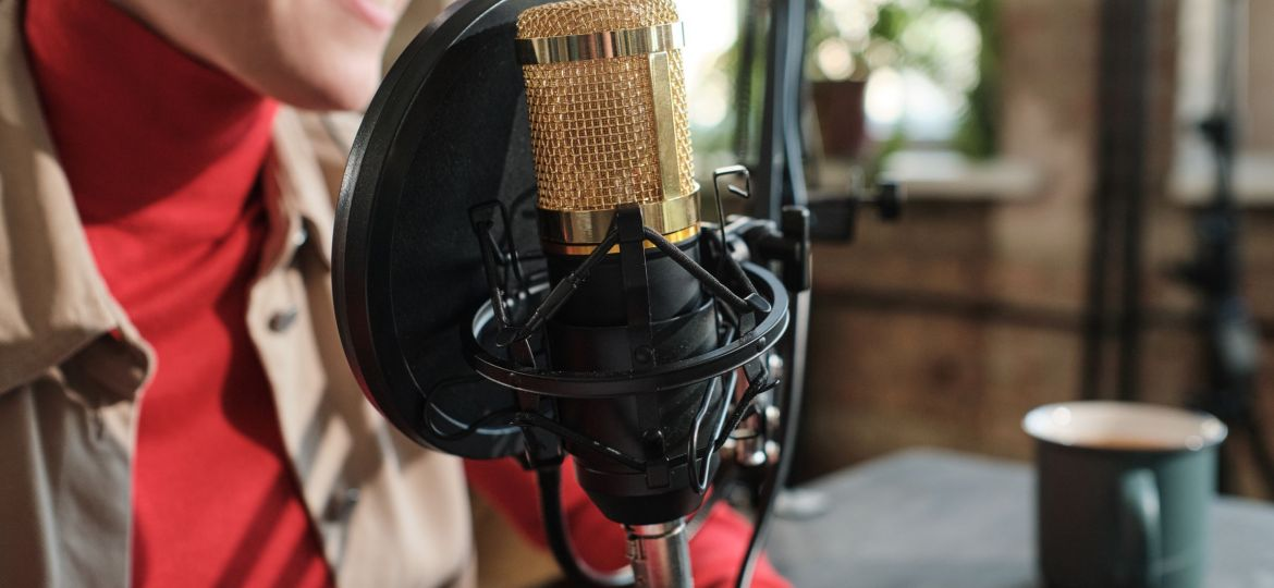 woman-recording-a-podcast